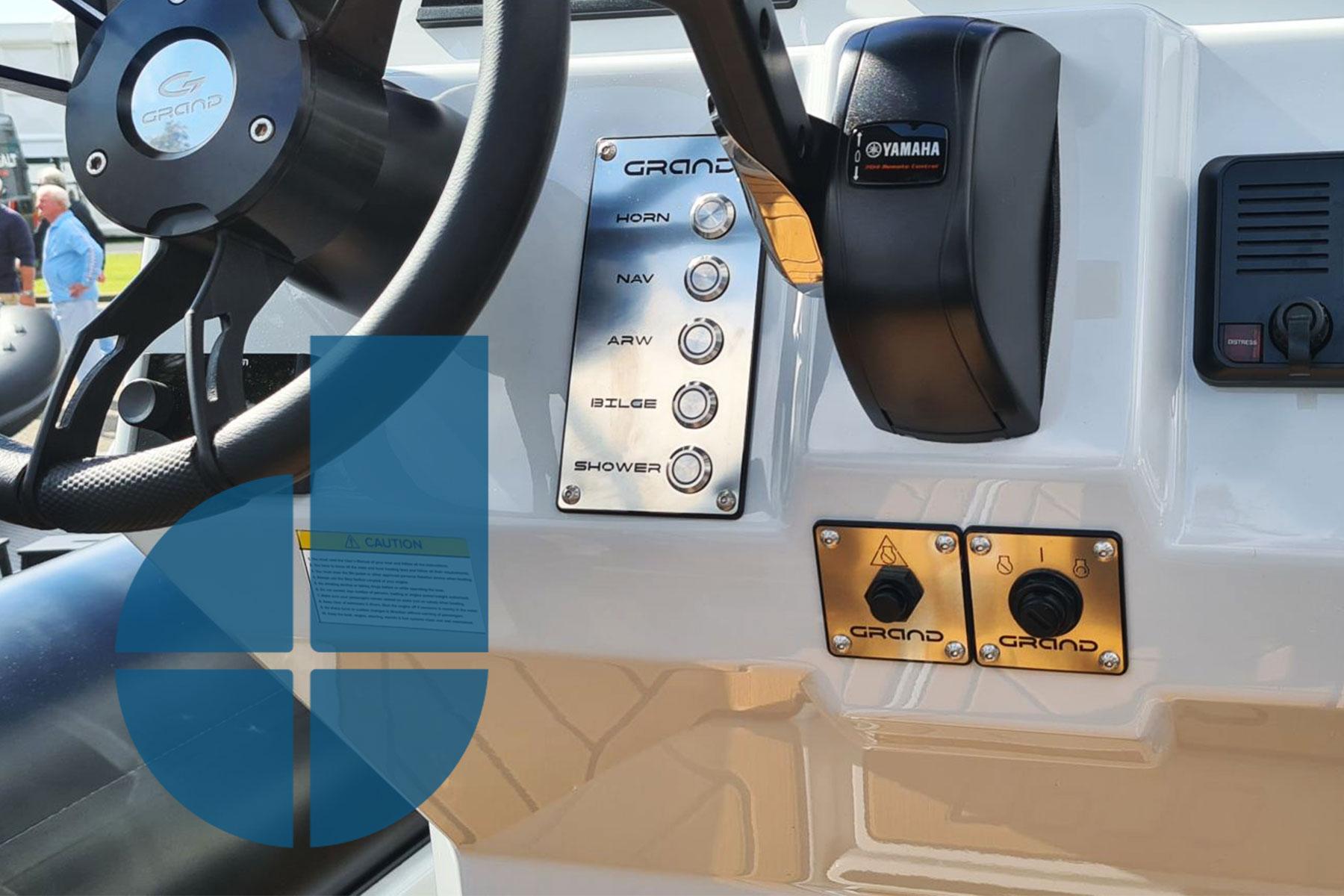 Bespoke Marine Switch Panels